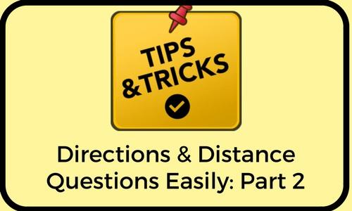 Tricks to Solve Directions Sense Ques: Part 2