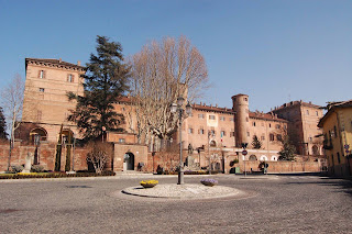The handsome castle at Moncalieri now houses a training college for the Carabinieri