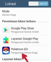 Pokemon go boros baterai