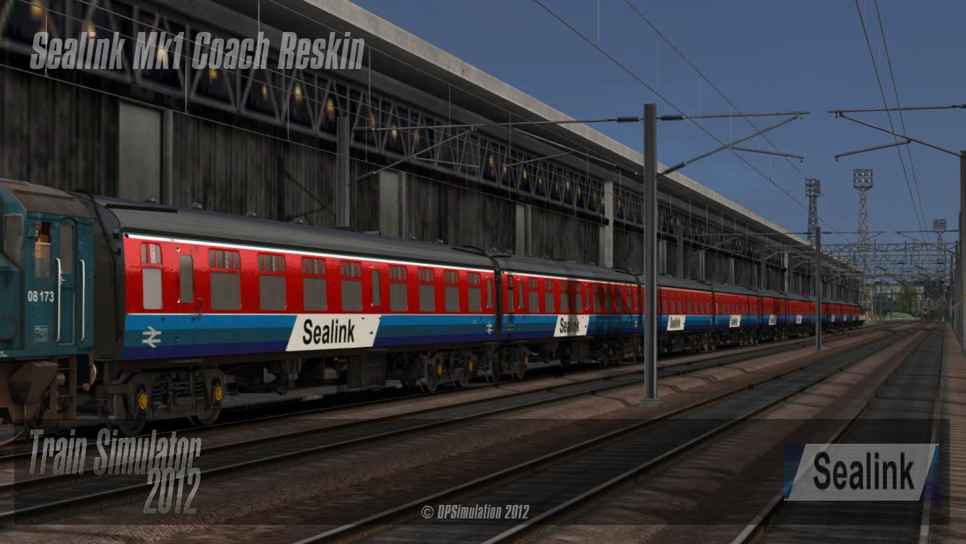 DPSimulation: Sealink Mk1 Reskin Released - Railworks 3