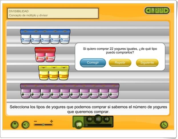 """""""Divisibilidad"""" (Aplicación interactiva de la Plataforma Agrega)"""