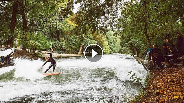 Munich sure is swell - Mick Fanning