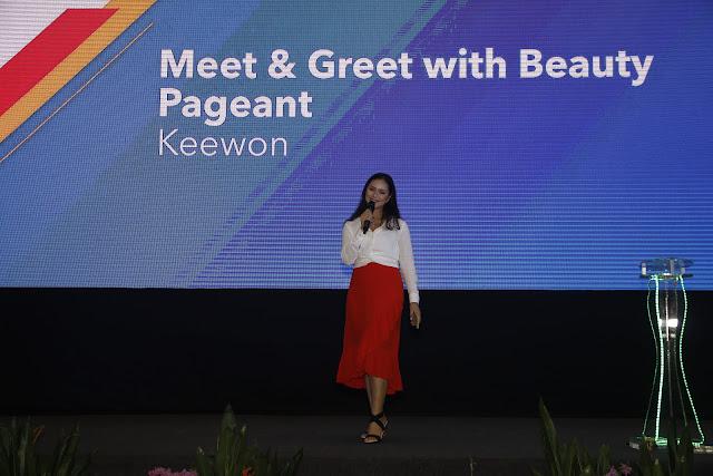 Special guest Keewon; Sabah Job & Entrepreneur Fair 2018 @ Kompleks Sukan Kota Kinabalu (Likas)