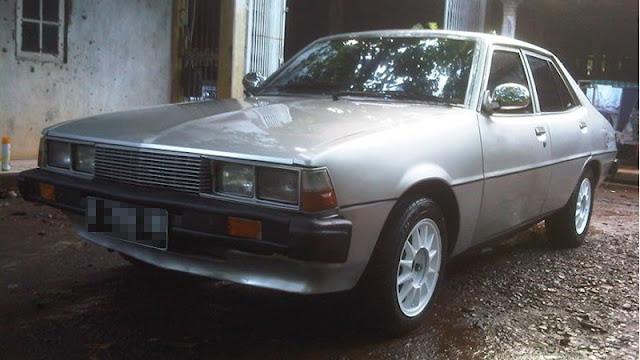 Mitsubishi Galant Sigma retro