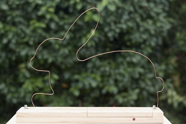 le parcours électrique en forme de lapin