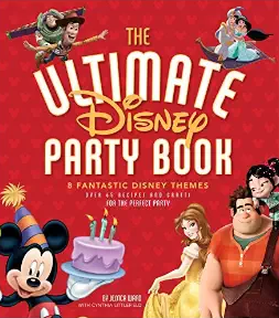 The Ultimate Disney Party Book cover