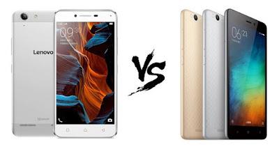 Lenovo Lemon 3 Vs Xiaomi Redmi 3 comparison