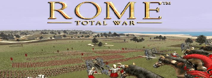 تحميل لعبة 1 rome total war مضغوطة بحجم صغير مجانا