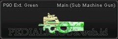 P90 Ext Green