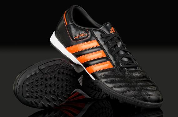 Persona responsable Plata Generador  Futsal And Soccer: Futsal Shoes adidas adiNOVA II TRX TF - Black/Warning