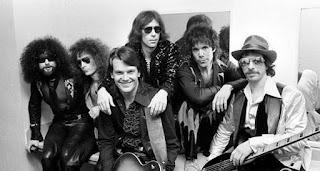"From left Richard ""Magic Dick"" Salwitz, Seth Justman, Jay Geils, Wolf, Stephen Jo Bladd and Danny Klein."