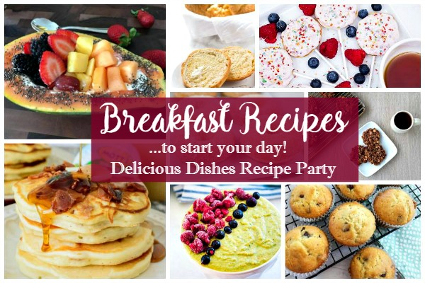 Breakfast Recipes and Delicious Dishes featured on Walking on Sunshine.