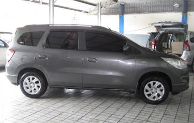Eksterior Samping Chevrolet Spin