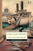 Cronica de una muerte anunciada . libro de Garcia Marquez