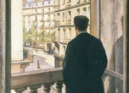 Young Man at His Window - G. Calleibotte 1874