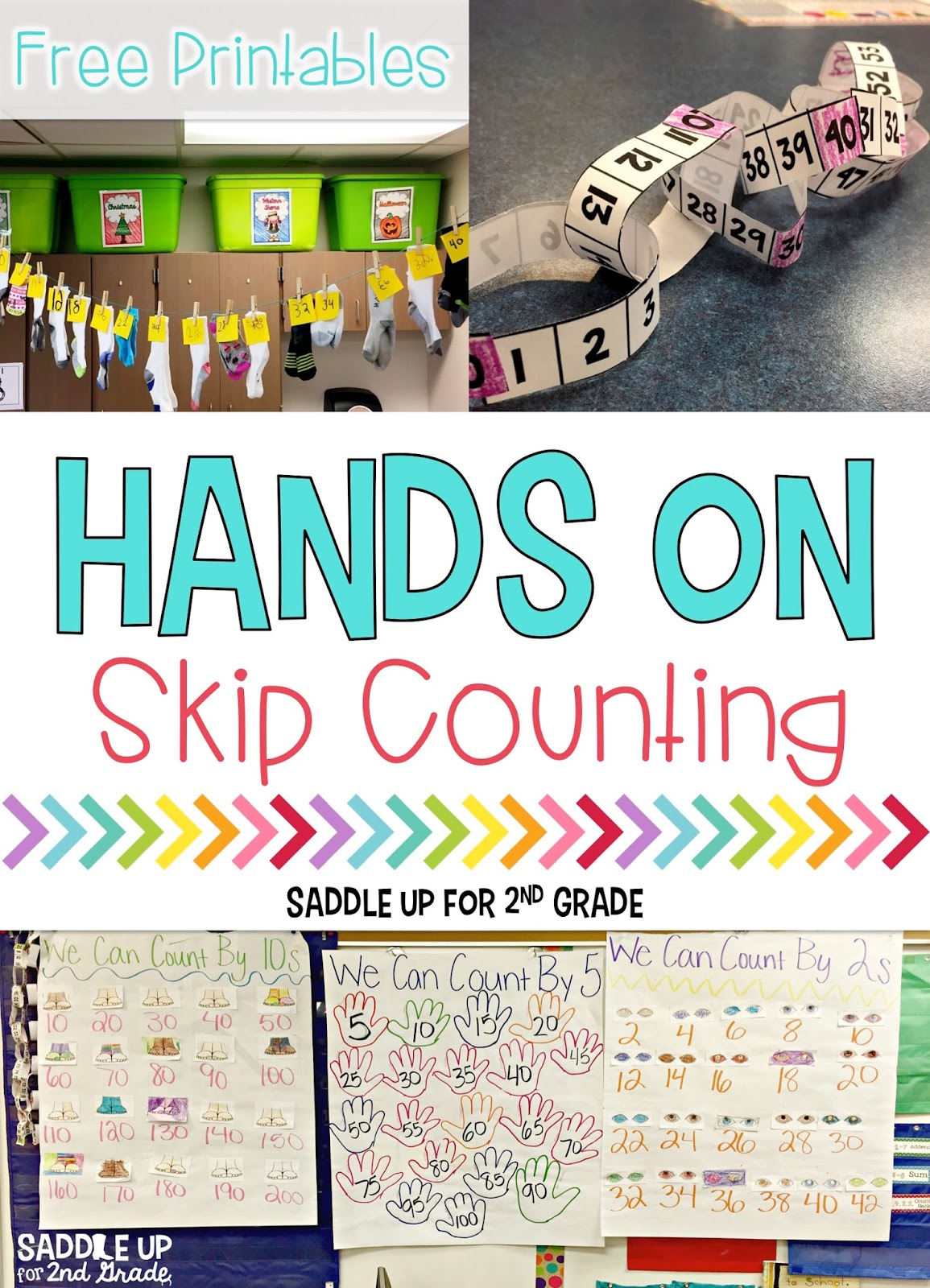 Hands On Skip Counting