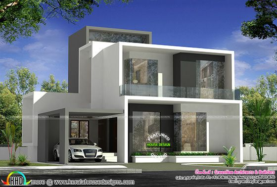 Cute simple contemporary house plan