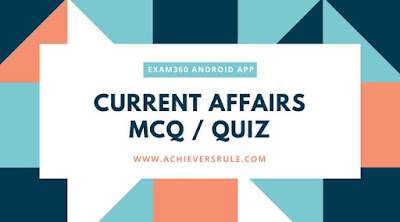Daily Current Affairs Quiz - 16th May 2018