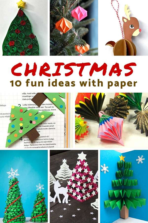 Christmas Paper Crafts