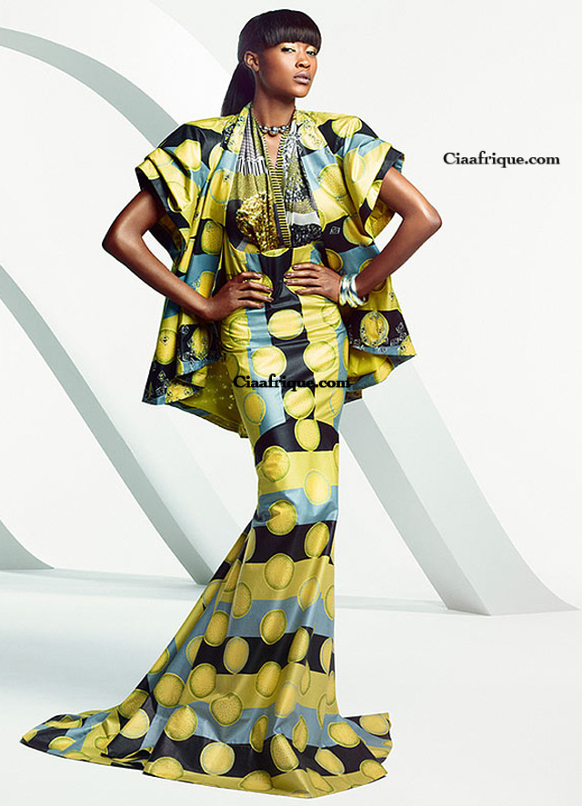 Vlisco campaign Parade of Charm  african print dresses by vlisco-modele de pagne vlisco