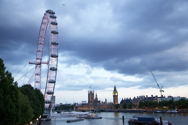 London Eye, Big Ben
