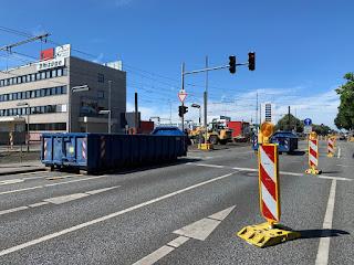 Baustelle Vahrenwalder Straße