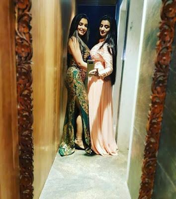Instagram Selfie Picture: भोजपुरी सिनेमा के दो खूबसूरत हीरोइन आम्रपाली दुबे और अक्षरा सिंह