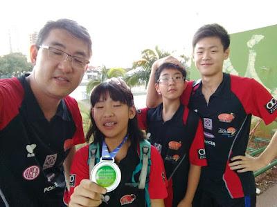Mesatenistas conquistam quatro medalhas para Registro-SP