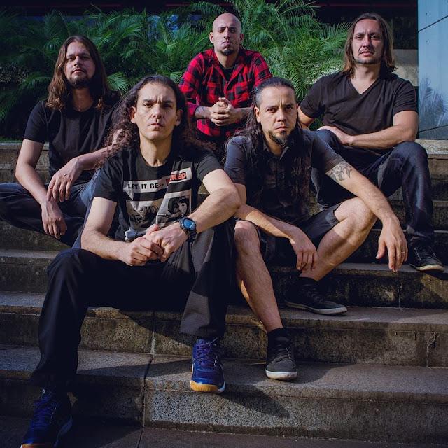 """Drowned: ouça versão da banda para """"The Wicker Man"""" do Iron Maiden"""