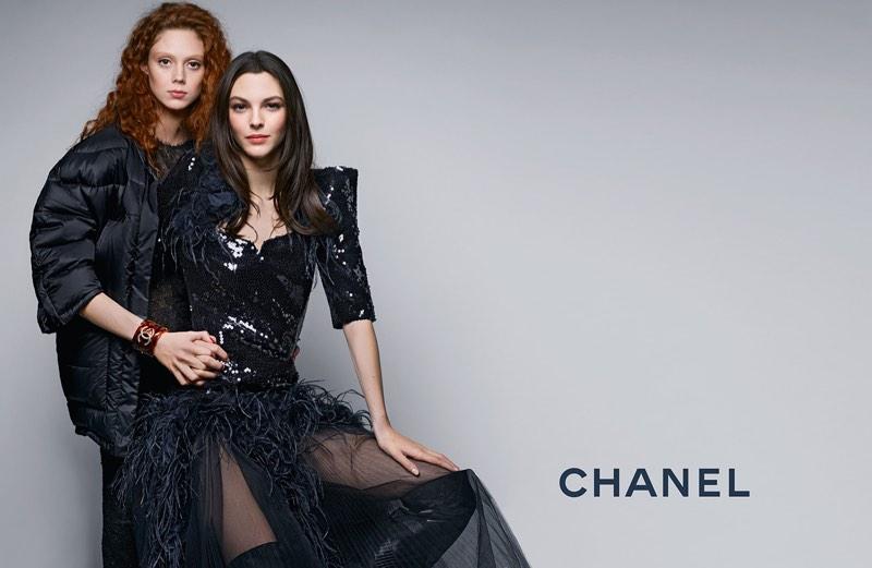 Natalie Westling & Vittoria Ceretti Front Chanel's Pre-Fall 2017 Campaign