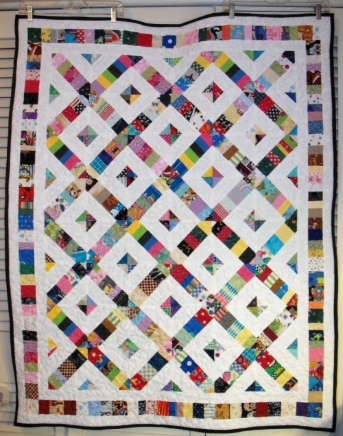 Crosswalk Quilt - Tutorial