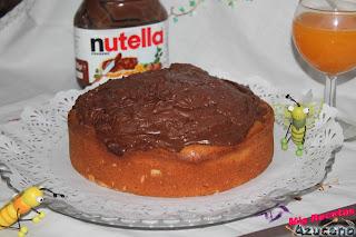 Bizcocho de Mascarpone y Nutella.