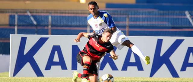 Horizonte perde o jogo, mas faz gol fora de casa e leva a decisão para o Domingão.