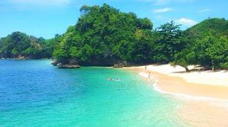 Beautiful Gatra Beach Malang Indonesia