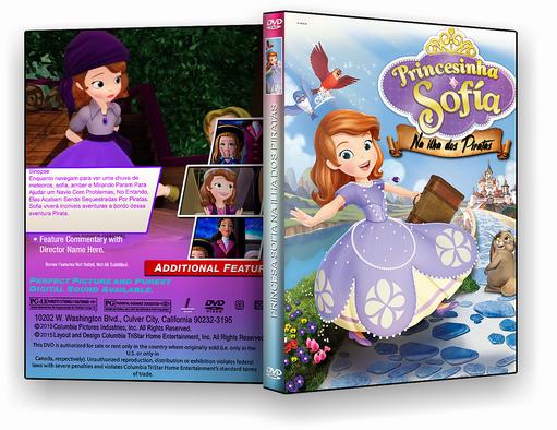 DVD – Princesinha Sofia Na Ilha dos Piratas – ISO