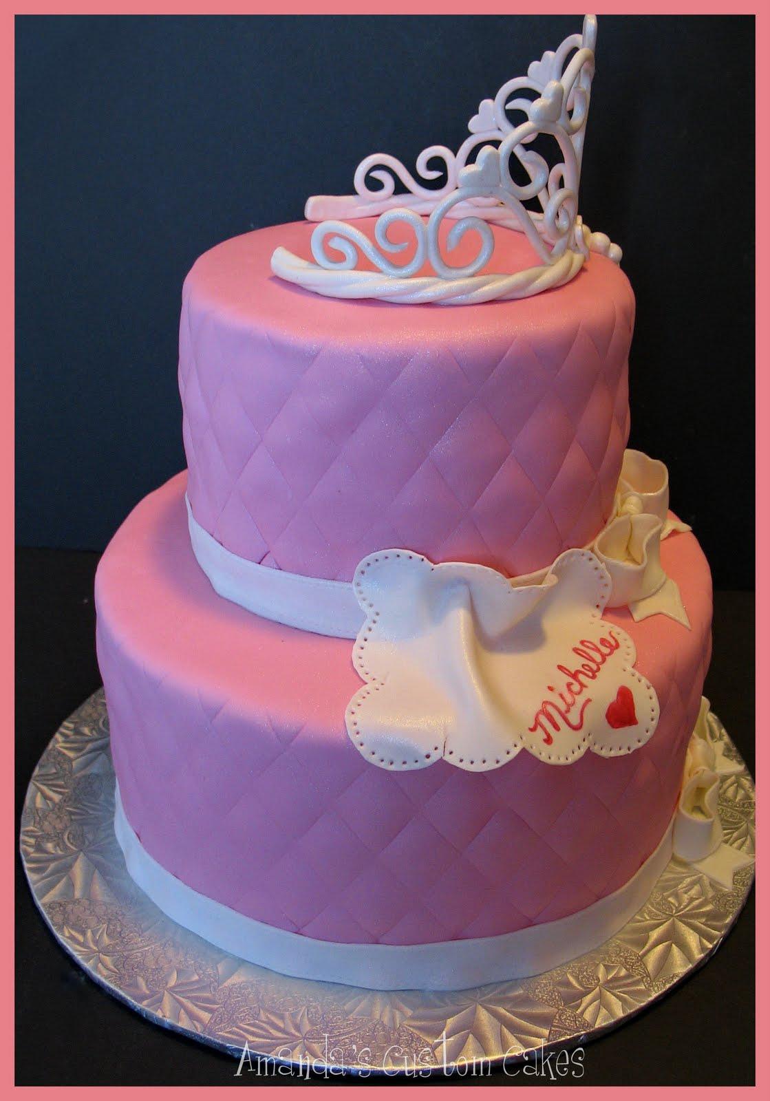 Amanda S Custom Cakes Beautiful Princess Cake