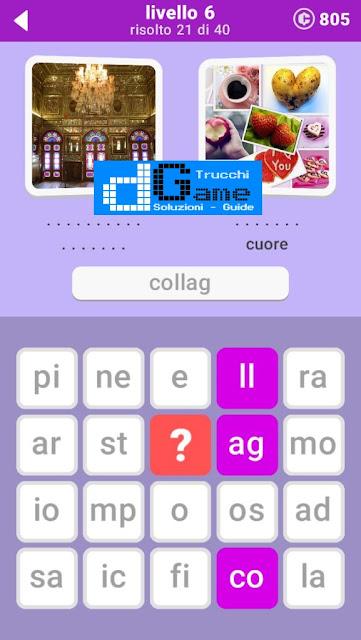 680 Parole soluzione pacchetto 6 livelli (1-20)