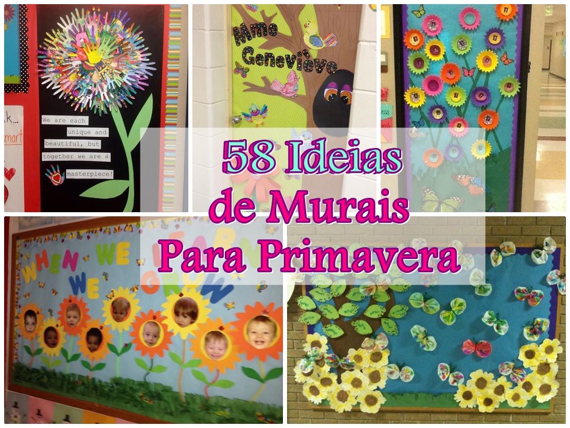 58 ideias para murais de primavera blog cantinho alternativo for Bordas para mural