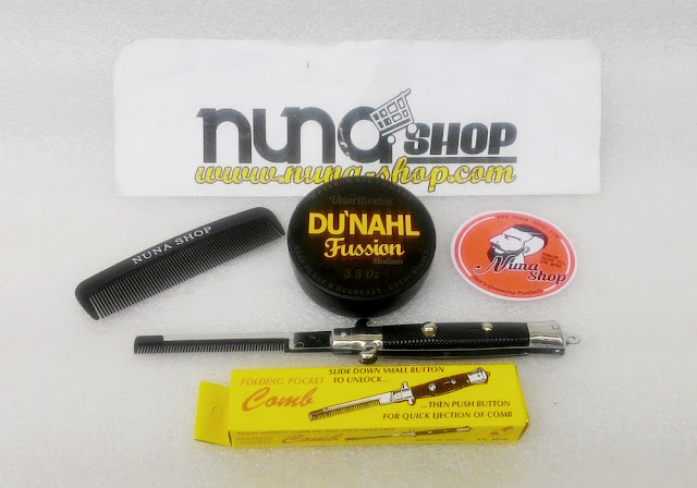 New Du'nahl Pomade Fussion Medium Unorthodox (Water in Oil Pomade)