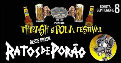 THRASH Y POLA FESTIVAL 2017 CON RATOS DE PORAO 1
