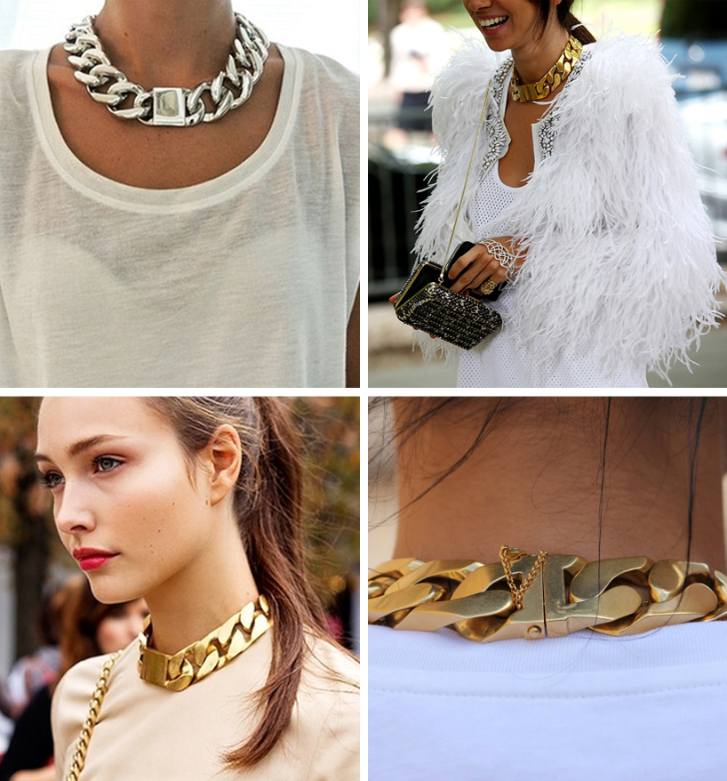 chain id necklace celine