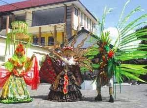 Banyuwangi Ethno Carnival 2014 dengan tema Seblang.