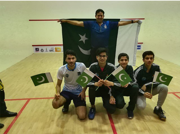Pakistan defeated  India in Junior Squash as the Asian Champion