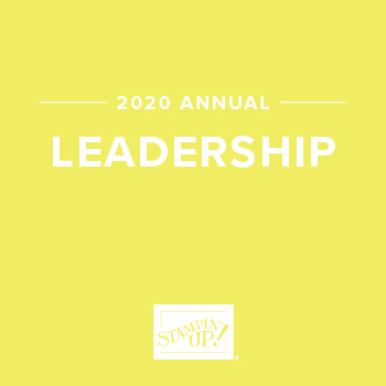 2020 STAMPIN UP LEADERSHIP AWARD