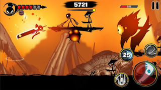 Download Game Stickman Revenge 3 Apk v1.0.18 Mod APK (Infinite Stamnia/Gold/All Materials)