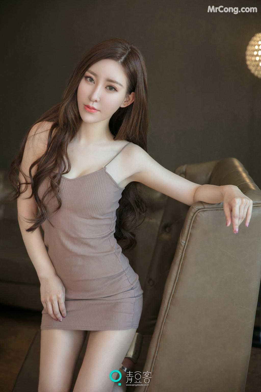 Image QingDouKe-2017-10-12-Qiao-En-Xi-MrCong.com-010 in post QingDouKe 2017-10-12: Người mẫu Qiao En Xi (乔恩夕) (54 ảnh)