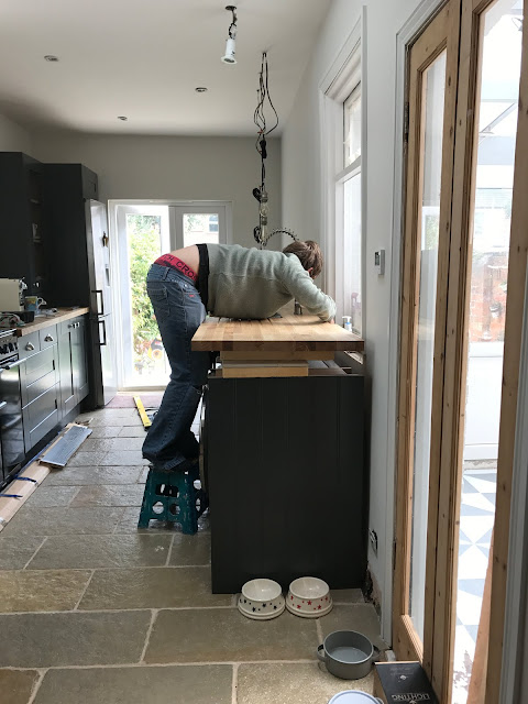 DIY worktop fitting