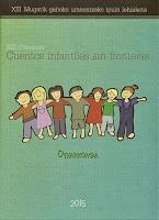 Portada Cuentos sin fronteras 2015, Salomé Guadalupe Ingelmo, Literatura para la infancia, Libros de Salomé Guadalupe Ingelmo