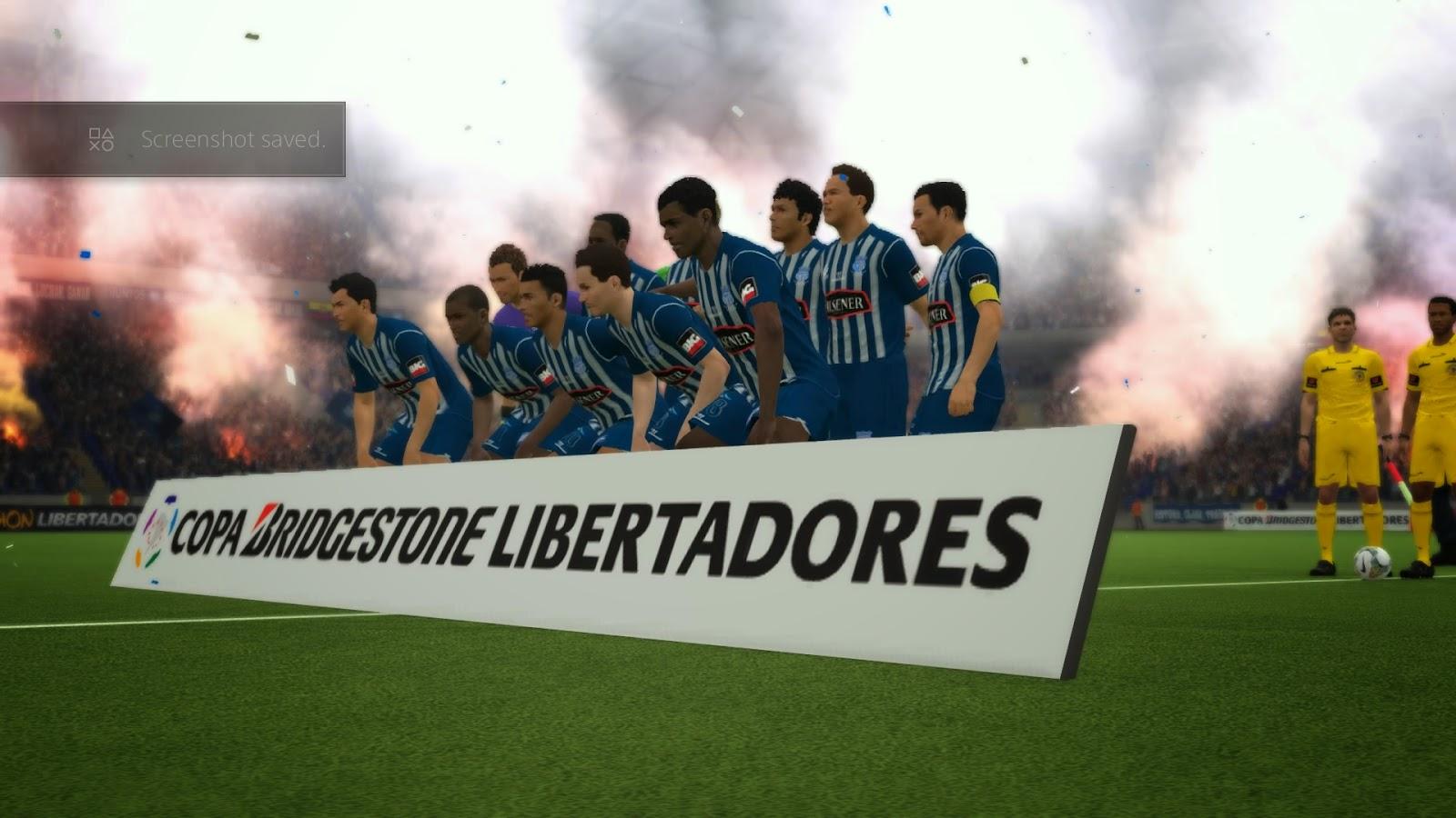 Bridgestone, en alianza con Konami, presenta la Pro Evolution Soccer (PES) Copa Bridgestone Libertadores.
