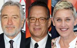 Robert De Niro, Tom Hanks, Ellen DeGeneres, More Awarded Presidential Medal of Freedom